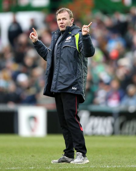 Saracens Director of Rugby Mark McCall (pic Nigel French/PA)