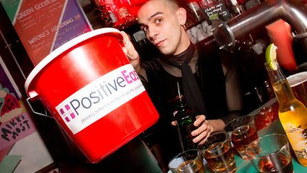 The Positive East fundraiser at Dalston Superstore. Picture: Maciek Groman/Hawt Photo Inc
