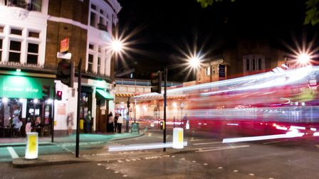 Shoreditch at night. Picture: Peter Sigrist/Flickr (Creative Commons licence CC BY 2.0)