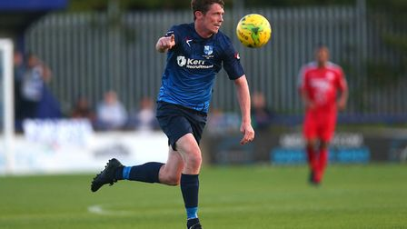 Sean Cronin netted for Wingate & Finchley at Worthing (pic Gavin Ellis/TGS Photo)