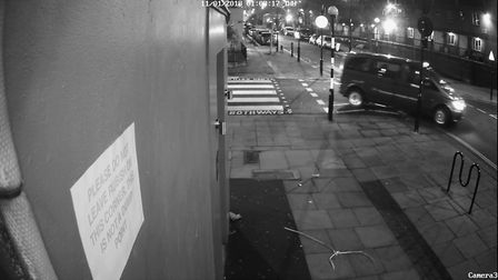 Detectives would like to speak the driver of the van pictured who they believe has vital information