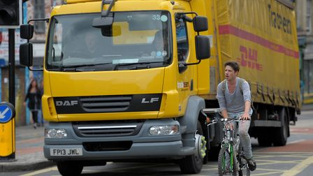 A parliamentary candidate is calling for increased safety measures for cyclists. Picture: PA WIRE