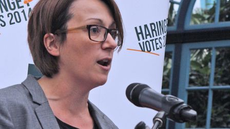 Haringey Council leader Claire Kober announced earlier today her intention to quit in May. Picture: