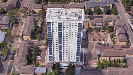 All 114 flats will be fitted with sprinklers because of the 'large number of older residents'. Pictu
