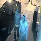 Police want to speak to these two men over Daniel Frederick's killing. Picture: Met