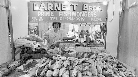 Ridley Road Market. Picture: Neil Martinson