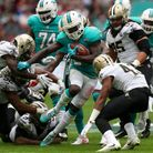Jay Ajayi, seen here in action for Miami Dolphins, will play in Super Bowl LII for Philadelphia Eagl