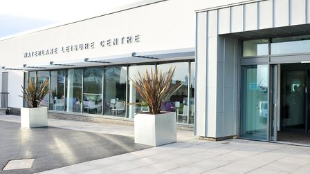 Waterlane leisure centre, Lowestoft, where the event will be held.