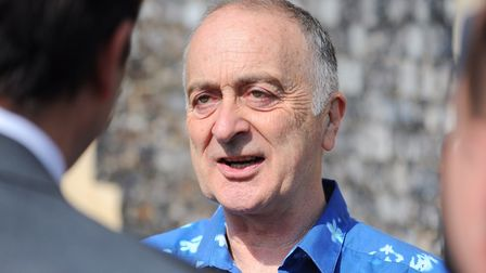 Tony Robinson. Picture: James Bass