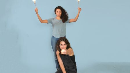 Singer, multi-instrumentalist and composer Anoushka Lucas and actor and playwright Jessica Butcher,