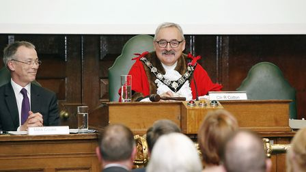 Richard Cotton is Camden's Mayor for 2017/2018