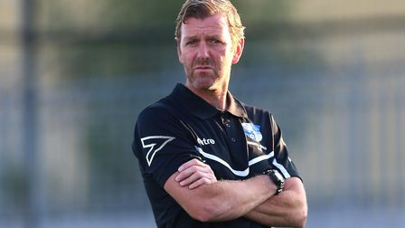 Wingate & Finchley manager Keith Rowland (pic Gavin Ellis/TGS Photo)