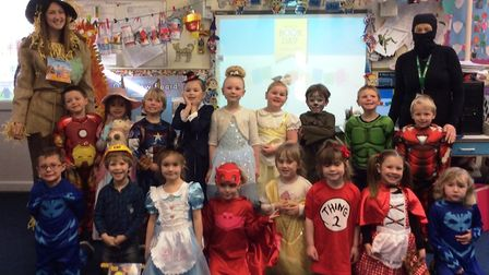 World Book Day was celebrated at Corton Primary School. The Starfish class. Pictures: Miss Boor