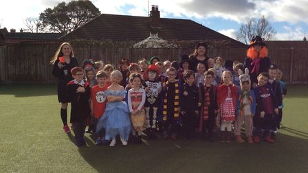 World Book Day was celebrated at Corton Primary School. The Seahorse class. Pictures: Miss Boor