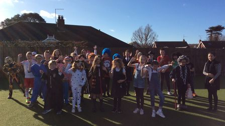 World Book Day was celebrated at Corton Primary School. The Shark class. Pictures: Miss Boor