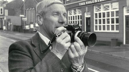 Alfred James Lovett, who died on February 18, 2018. Mr Lovett was a photographer for the Lowestoft J