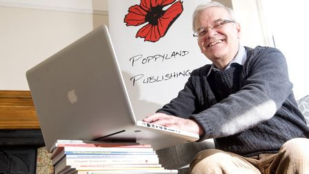 Gareth Davies will be running Poppyland Publishing in Lowestoft after the business spent more than 3