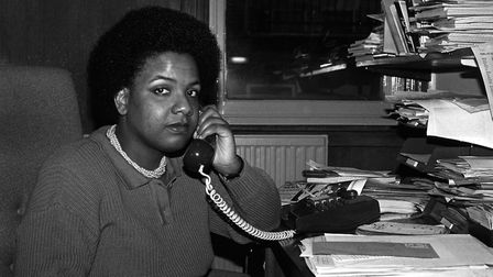 Diane Abbott, pictured in 1986 as an equality officer for the union ACTT. Picture: PA Archive