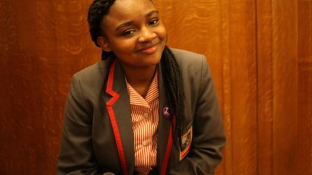 Rose Ilunga was chosen to be young speaker of Hackney earlier this year. Photo by Hackney Council