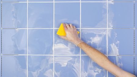 Re-grouting doesn't have to be an arduous task. Thinkstock/PA