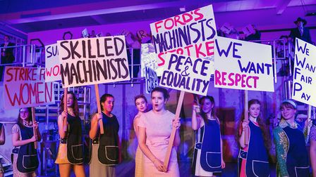 Made in Dagenham at South Hampstead High School. Photo by South Hampstead High School