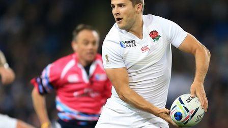 Saracens scrum half Richard Wigglesworth won his last cap for England during the 2015 World Cup (pic