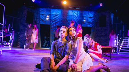 A performance of West Side Story at UCS Hampstead, which admitted girls into the sixth form for the