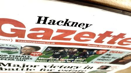 Women's edition: This week's Hackney Gazette.