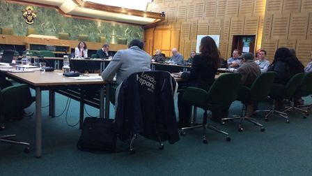 """Cllr Zena Brabazon said: """"The whole thing is being done back to front."""" Picture: JON KING"""