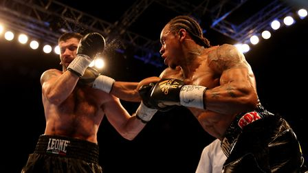 Anthony Yarde (right) beat Nikola Sjekloca in December (pic: Steven Paston/PA)