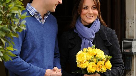 The Duke and Duchess of Cambridge attended the Kensington Palace Christmas party at Beach Blanket Ba