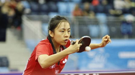 Tin Tin Ho is looking forward to the World Cup next month (pic Table Tennis England)