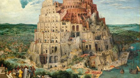Pieter Bruegel the Elder's The Tower of Babel. Picture: KHM-Museumsverband