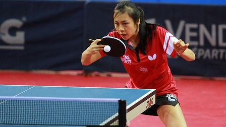 Londoner Tin-Tin Ho is looking forward to the ITTF Team World Cup (pic: R. Gros/ITTF)