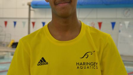 Haringey Aquatics swimmer Shakil Giordani has been selected in the Middlesex squad for the French Go