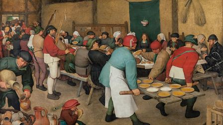 Pieter Bruegel the Elder's The Peasant Wedding. Picture: KHM-Museumsverband