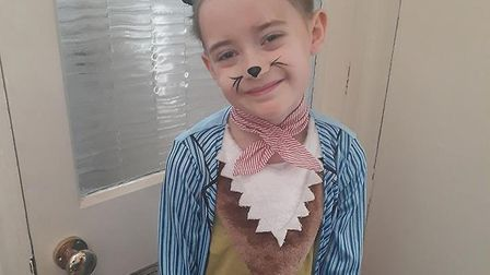 Pupils from Roman Hill Primary School celebrated World Book Day. Picture: Siobhan Rush