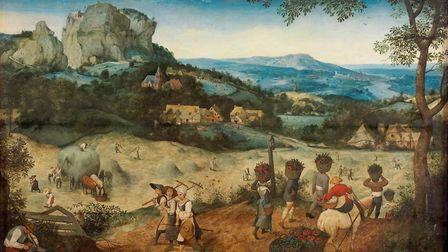 Pieter Bruegel the Elder's The Haymaking. Picture: The Lobkowicz Collections