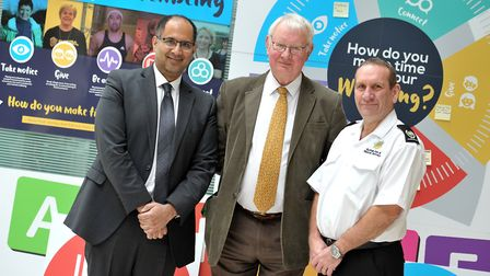 Abdul Razaq, director of Public Health and Protection, Cllr Tony Goldson, cabinet member for Health,