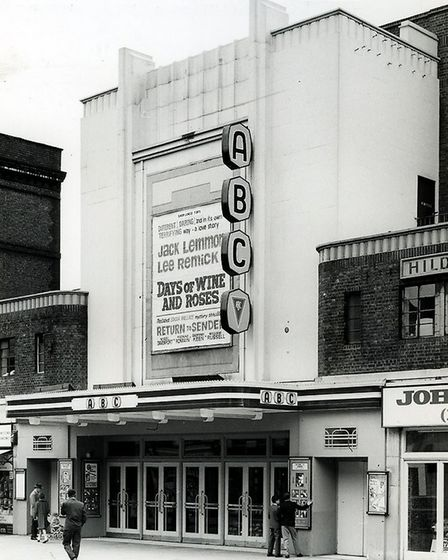 The ABC Cinema in July 1963. Picture: Amir Dotan