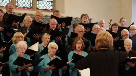 Pakefield Singers perform in Pakefield Church earlier this year. Picture: Will Goodman