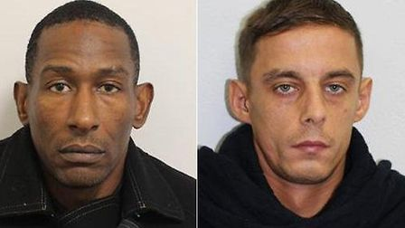 Jeffrey Major and David Grintuch. Picture: Met police