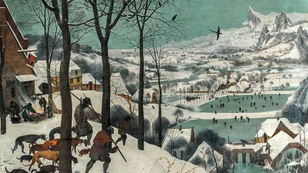 Pieter Bruegel the Elder's Hunters in the Snow. Picture: KHM-Museumsverband