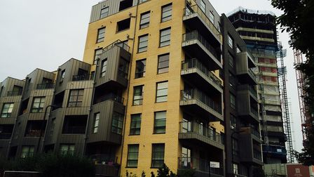Burbage House, where Islington and South Hackney Housing Association still needs to replace the clad