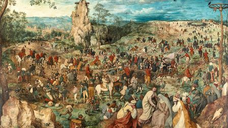 Pieter Bruegel the Elder's Christ Carrying the Cross. Picture: KHM-Museumsverband