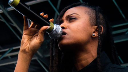 Kelela performing in 2014. Picture: Mary Nichols (DJ Fusion/FuseBox Radio) / Flickr / Creative Commo