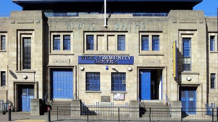 The old baths will be refurbished by the council. Picture: Hackney Council
