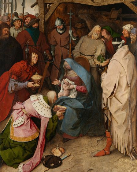 Pieter Bruegel the Elder's The Adoration of the Kings. Picture: The National Gallery, London 2018