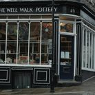 The Well Walk Pottery is a Hampstead gem. Picture (Matilda Moreton)