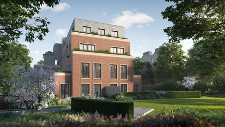All apartments have access to the communal garden. Picture: Linton Group